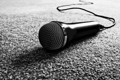 black-and-white-mic